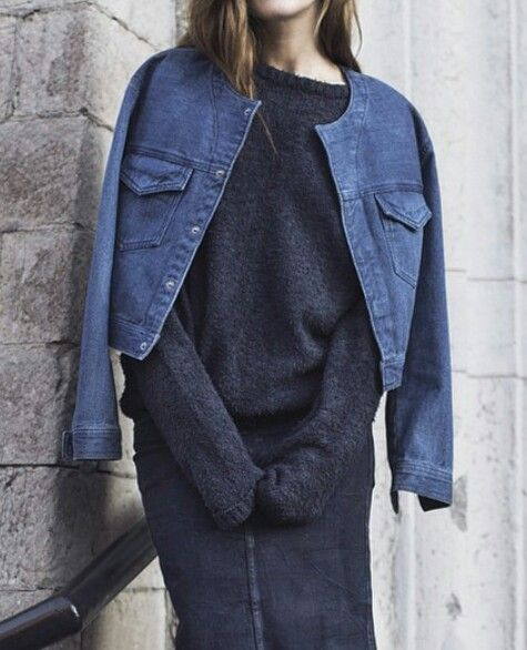 When buying a denim jacket don't forget to consider your style personality. www.stylestaples.com.au