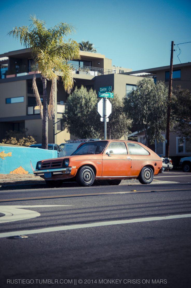 Chevy Chevette (aka Buick Opel, Daewoo Maepsy, Holden Gemini,  Isuzu Gemini, Saehan Bird, Pontiac Acadian, Vauxhall Chevette, Opel Kadett) in #Hillcrest #SanDiego #RustyCar