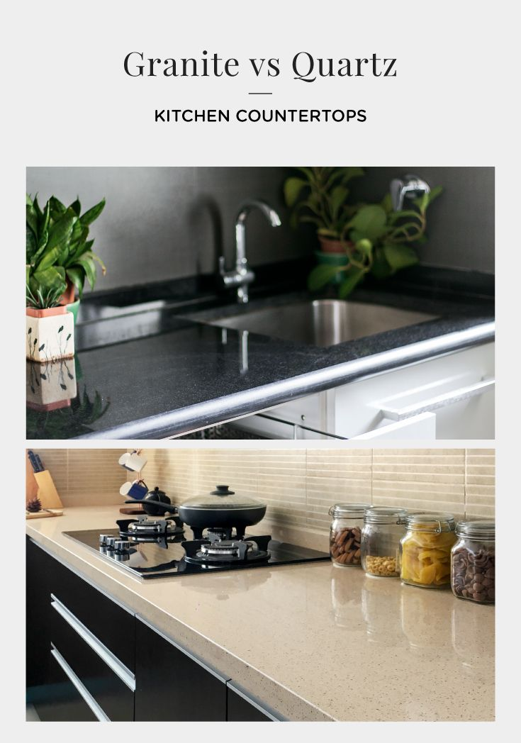 Which Is A Better Kitchen Countertop Material Quartz Kitchen Countertops Kitchen Countertops Kitchen Countertop Materials