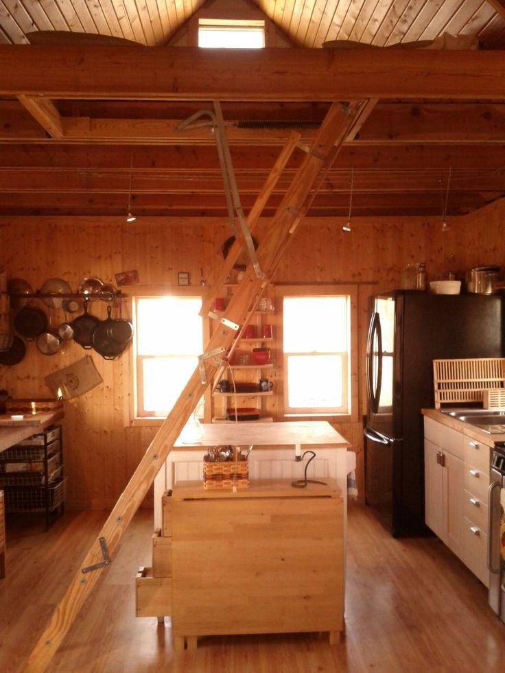 25 Best Ideas About Retractable Ladder On Pinterest
