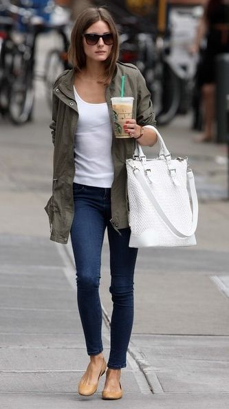 Olivia Palermo= mean girl. Outfit = simple and I just might copy.