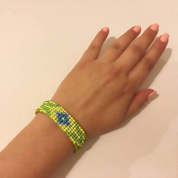 Boho Bracelet Hippie Bracelet Petoye Bracelet Beawork