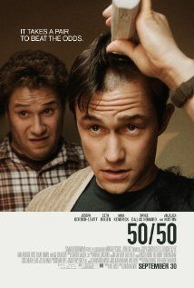 """50/50"" - Amazing look at the reality of life dealing with cancer at a young age. The authenticity of the characters is something rarely seen all together in one film. Full expression of emotion from laughter to sadness, each one done so well it makes your heart hurt."