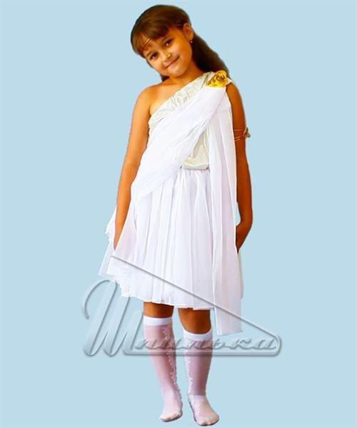 Детский костюм греческой богини музы