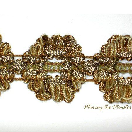 Christopher Lowell Flat Gold Carnation trim | Pink ...