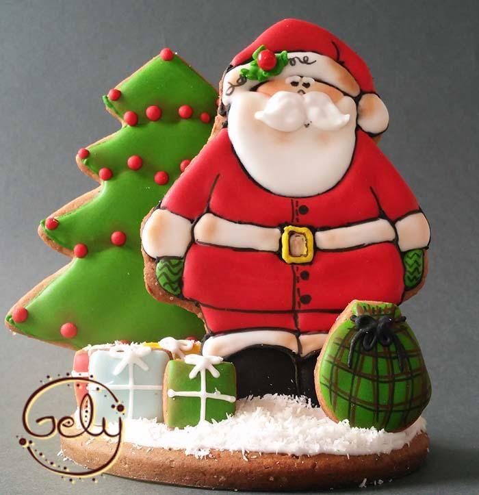 Papá Noel Parado | Cookie Connection