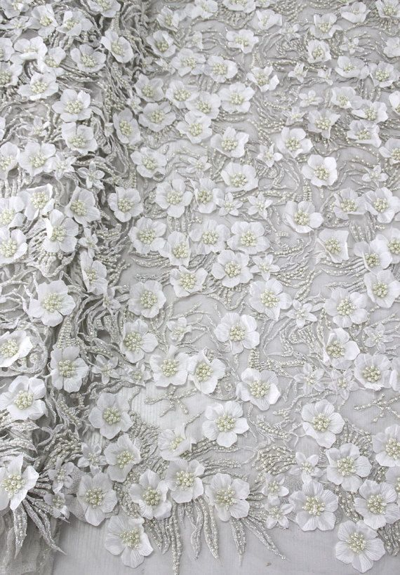 Best Bridal lace fabric by the lace fabric beaded lace fabric and flower guipure lace fabric wedding dress lace fabric embroidery lace by AnnabelleDIY on Etsy