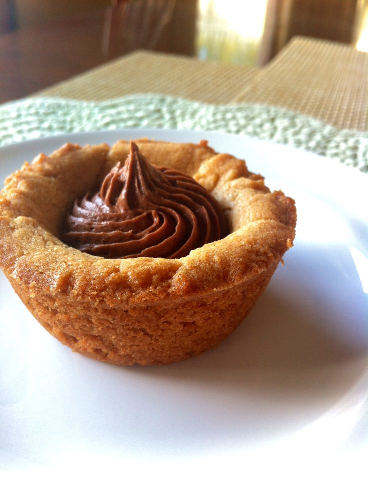 Peanut Butter Cookie Cups! | Baking | Pinterest