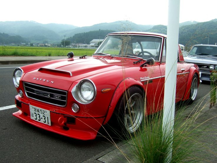 Datsun Fairlady....never thought I would find a Datsun so beautiful