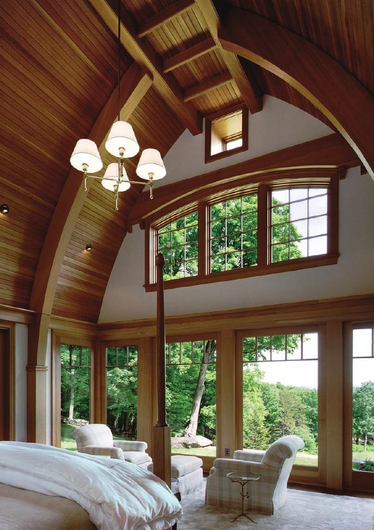 Radius inspired Vermont home by Morehouse MacDonald & Associates
