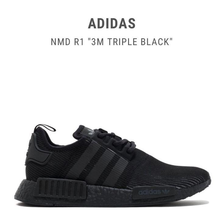 """Adidas NMD R1 """"3M Triple Black"""""""