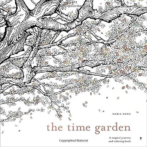 The Time Garden A Magical Journey And Coloring Book