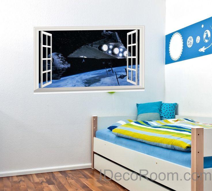 Bedroom Paint Colour Ideas Bedroom Blinds Ideas Bedroom Ideas Industrial Baby Boy Bedroom Wall Stickers: 49 Best Images About 3D Window View On Pinterest