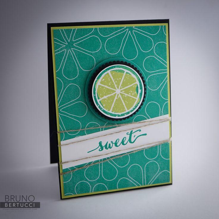 Bruno Bertucci | Stampin Up | stampinbruno | Dare to Dream | Lemon Zest | Perfect Days | Memories and More | Handmade Card