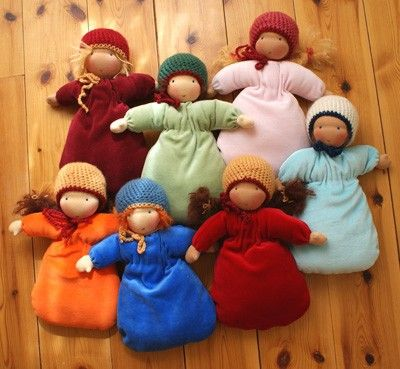 A Polar Bear's Tale: Waldorf dolls for babies