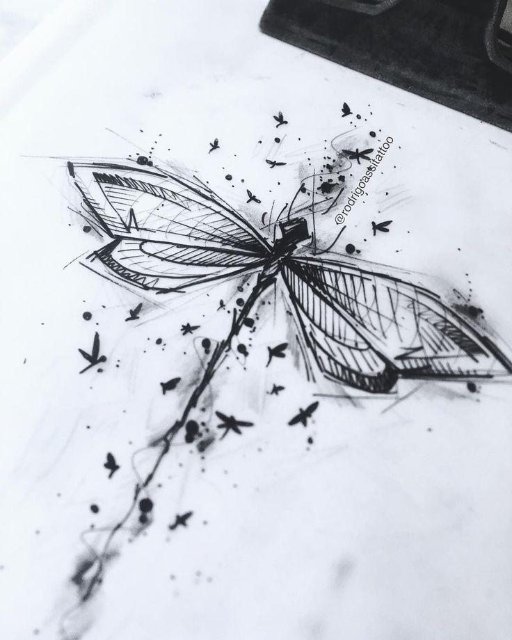 Zeichnung erstellt von Rodrigo Assi (rodrigoassitattoo) von Balneário Camboriú – SC … #Tattoos #Ale