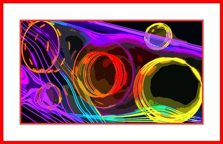 Neon Signs, Abstract Paintings, Colorful Abstract Art