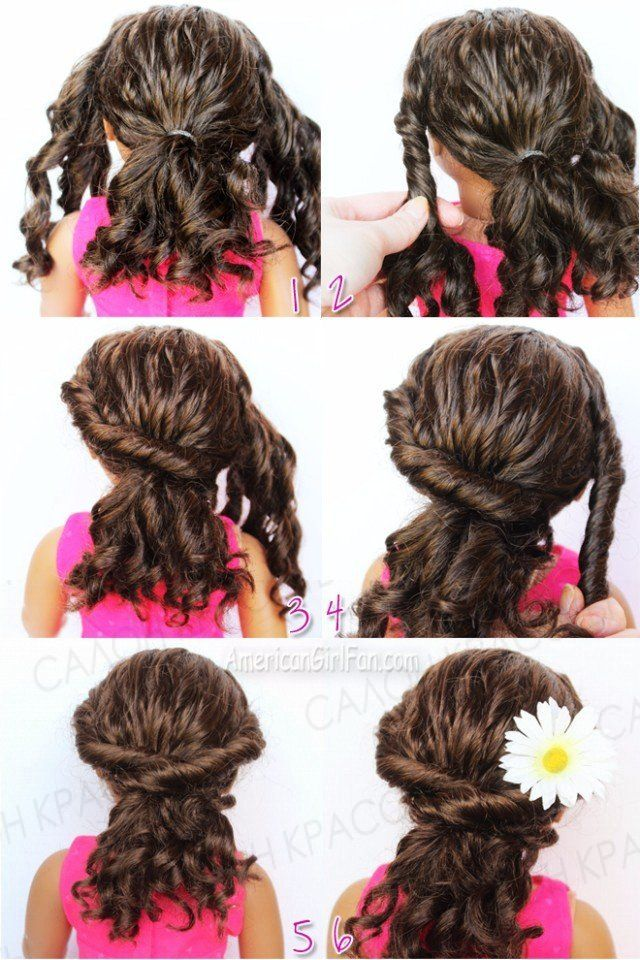 Best American Girl Hair Care Images On Pinterest American - Hairstyles for dolls with long hair