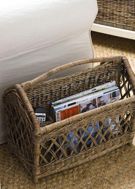 €89,95 Rustic Rattan Magazines #living #interior #rivieramaison
