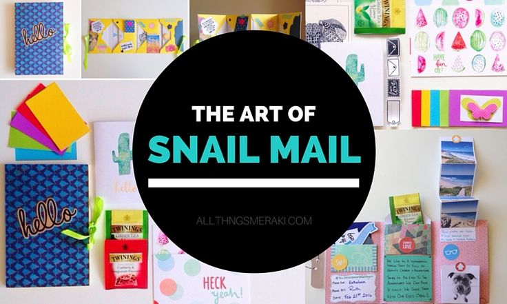Do you still send and receive personal snail mail? Snail mail is making a comeback, bigger, brighter and more creative than ever.