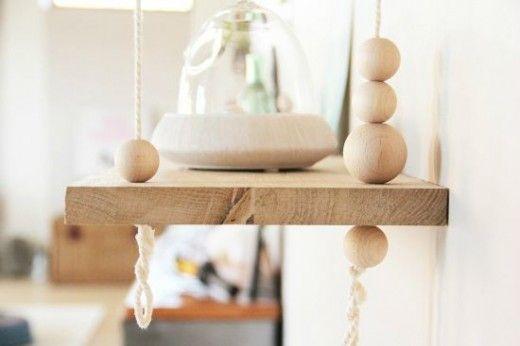 DIY Swing shelf, by Tête d'ange