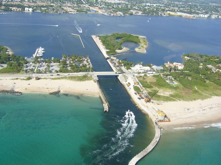 Boynton Inlet - Boynton Beach. Nice place for a picnic.