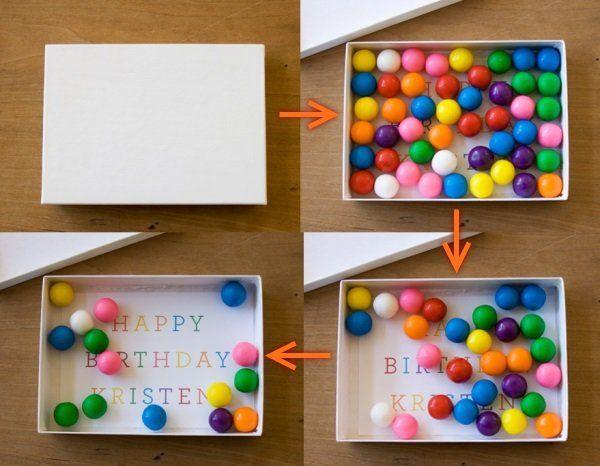 Подарок на день рождения самодельный