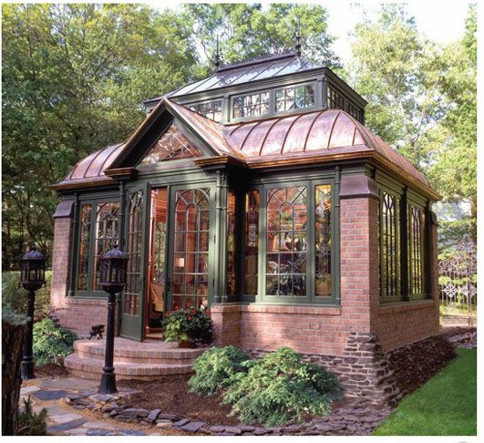 This Victorian Cabana was built to match the owner's 1880 Historic Home.
