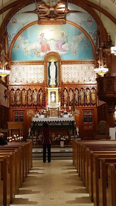 Santuario de la Divina Misericordia.  Stockbridge  Massachussets.  30 setiembre 2017.