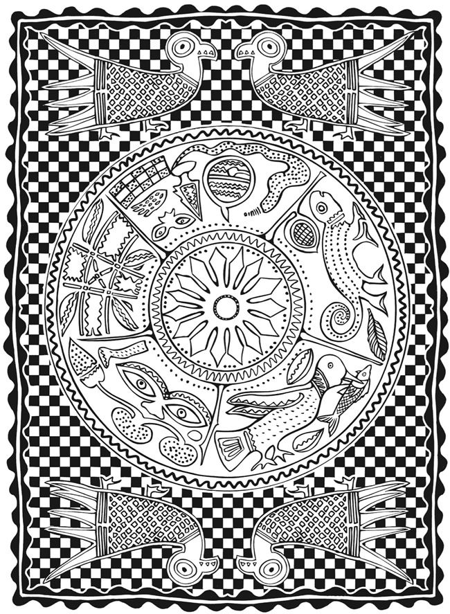 creative designs coloring pages - photo#42