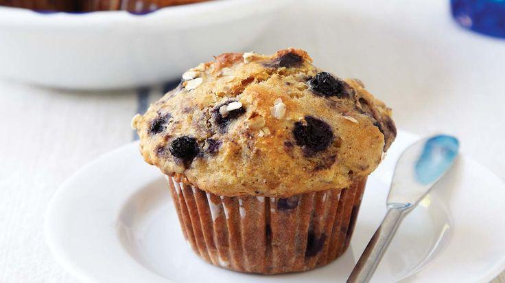 Muffins à l'avoine et aux bleuets/IGA