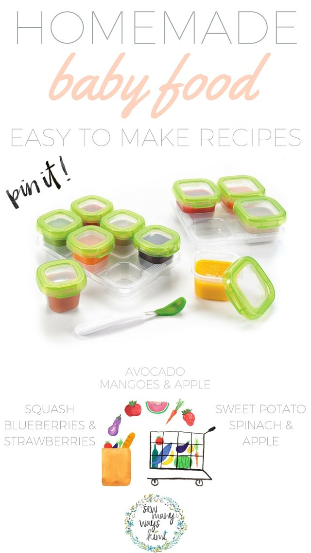 No+need+to+buy+a+$200+baby+food+maker!+Great+for+beginners/newbies!+Just+use+your+blender+and+crockpot!+Includes+super+easy+and+yummy+homemade+baby+food+recipes.+Store,+make+and+feed.
