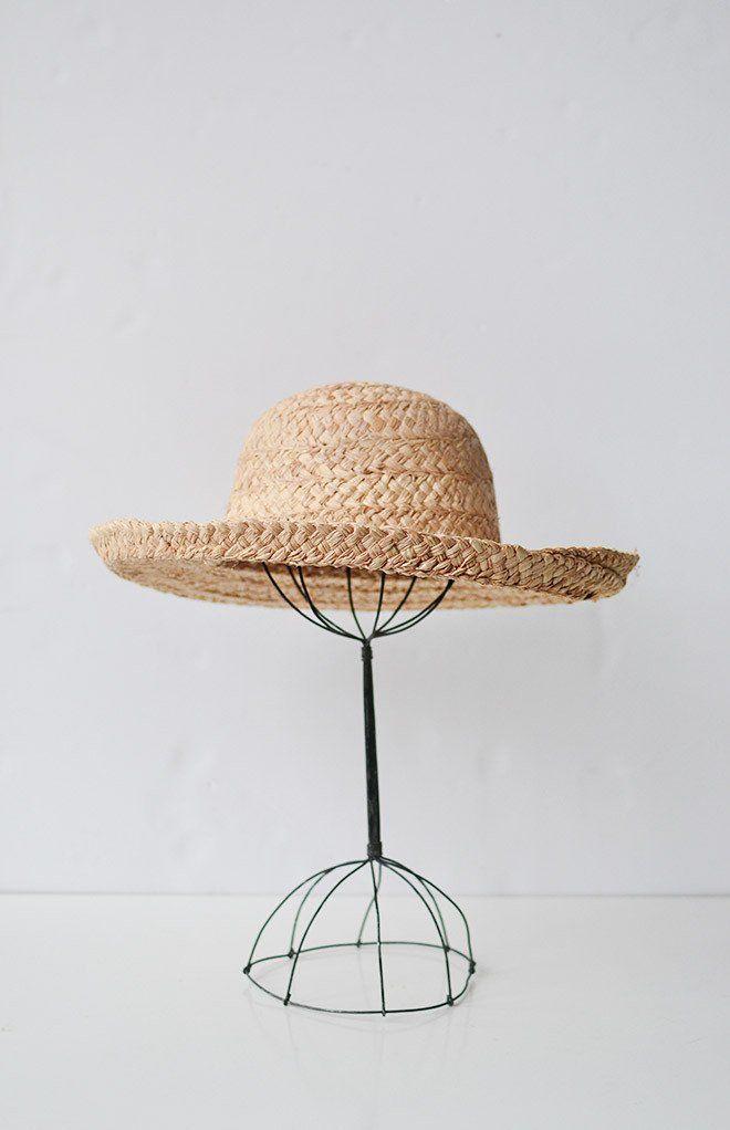 L'Ete Straw Hat / Women's Vintage Inspired Straw Hat $38