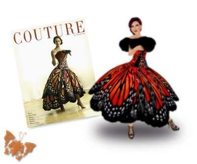 Flight of Fancy Couture   The Luly Yang Butterfly Dress from Seattle is Lifelike  GALLERY