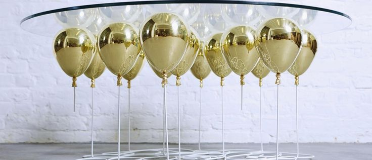 Duffy London's UP Balloon Coffee Table — urdesignmag