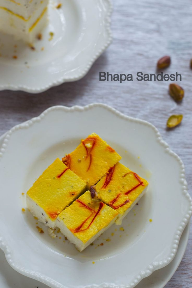 ... Sandesh. 'Bhapa' in Bengali means steamed. This steamed Sandesh is