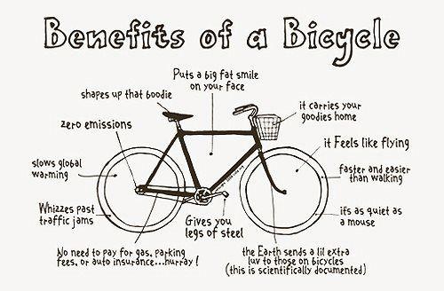 I must ride my bike more