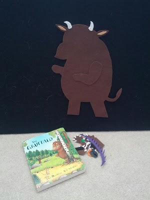 And Next Comes L  Building The Gruffalo  Wonderful felt board activity