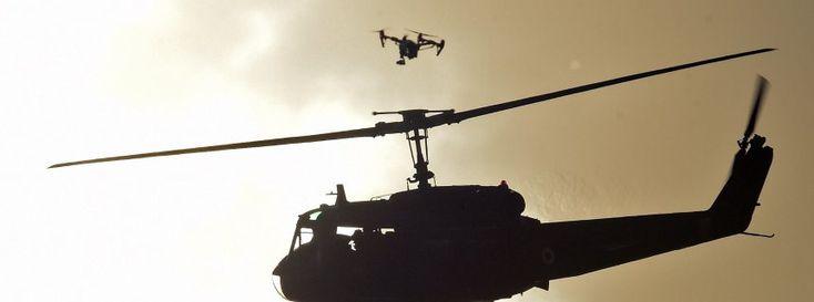 Drohne, Helikopter (am 12. Juli beim Papstbesuch in Paraguay): Immer mehr Vorfälle in der Luft