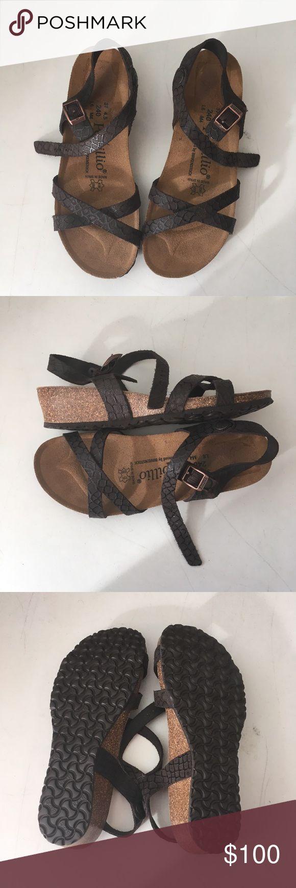 Birkenstock Papillio Alyssa Nemo Size 37 Birkenstock Papillio Alyssa Nemo Size 37 comes with box but no top on box Birkenstock Shoes Sandals