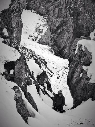 Matthew Young - climbing at Matroosberg