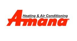 How can I tell the age of an Amana air conditioner or furnace from the serial number?