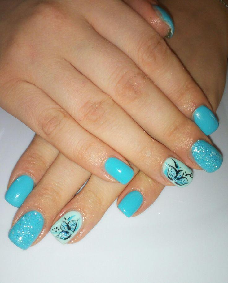 Oltre 25 fantastiche idee su unghie turchese su pinterest for Decorazione e applicazione unghie finte