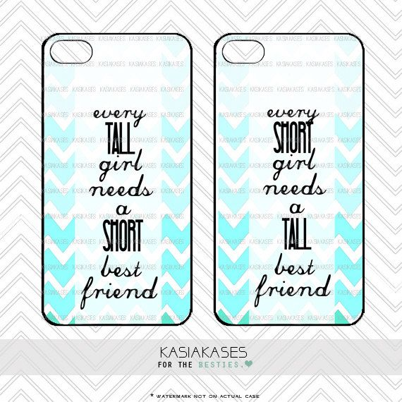 Hey, I found this really awesome Etsy listing at https://www.etsy.com/listing/187889991/bff-case-short-and-tall-bestie-iphone-4