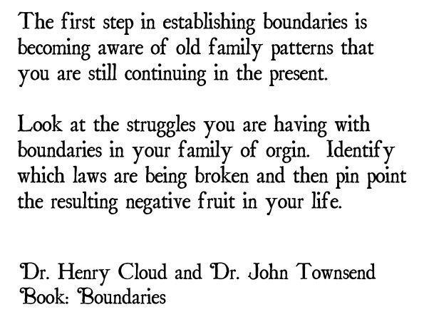 Establishing Healthy Family Relational Boundaries