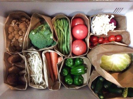 冷蔵庫の整理収納①〜野菜室編〜|暮らしニスタ