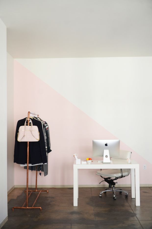 When it came time to pick out a new paint color for her office, Emily @EmilySchuman knew that no ordinary color would do. Emily used BEHR's Color A Memory tool to create a custom shade of blush that perfectly captured all the progress she'd made as a designer. Click here to read Emily's full story, and see how you can create a custom interior paint for your home.