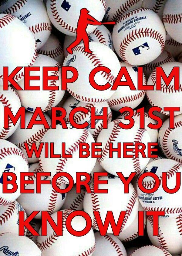 Can't keep calm, love baseball too much.