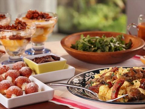 Cooking brunch at bobby 39 s videos cooking watch video for Brunch with bobby recipes