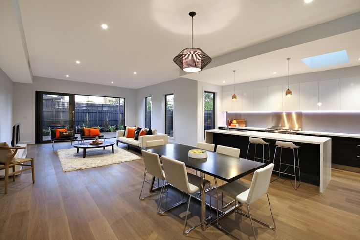 Townhouse living dining by Style Precinct Interiors